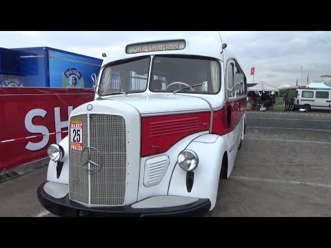 1949 mercedes benz o 3500 youtube for Mercedes benz 3500