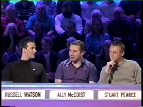 Nicky Byrne on Question of Sport 2002 pt 1