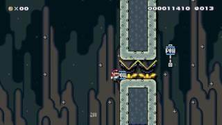 POW Surfing Speed Run (20sec): Beating Super Mario Maker's Super Expert Levels!