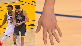 Klay Thompson Goes Crazy Even After Dislocating His Finger In Injury! Warriors vs Jazz