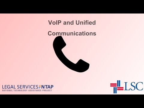 Intro To VoIP And Unified Communications