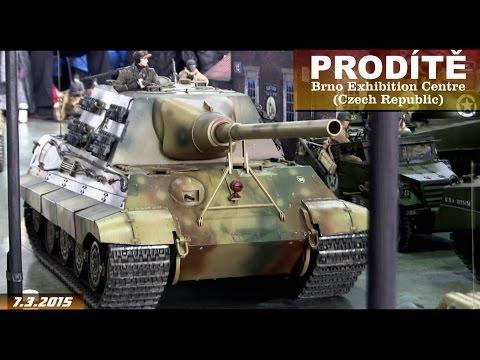 1/6 RC Military Models Of World War II ... PRODÍTĚ 2015, Brno