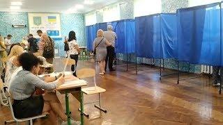 Выборы Рады: голосование в Харьковской области проходит спокойно / Видео