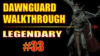 Skyrim Dawnguard Walkthrough - #33, How to Get Through Darkfall Passage EASY (Touching The Sky)