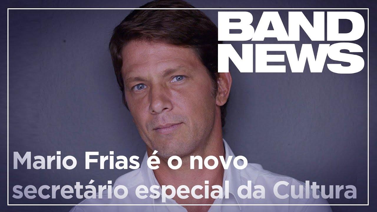 Notícias - Mario Frias é o novo secretário especial da Cultura - online