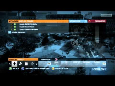 Battlefield 3 Beta: First Match [HD]