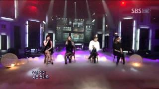 2NE1 - It Hurts (2NE1 - It Hurts) @ SBS Inkigayo Lagu populer 101031