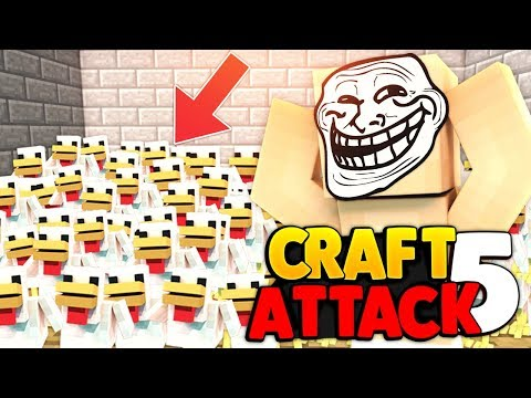 MEGA NERVIGER TROLL IN REWIS HAUS  | CRAFT ATTACK 5