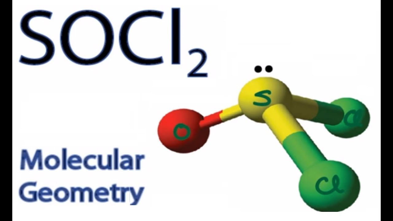 Socl2 molecular geometry shape and bond angles youtube pooptronica Choice Image