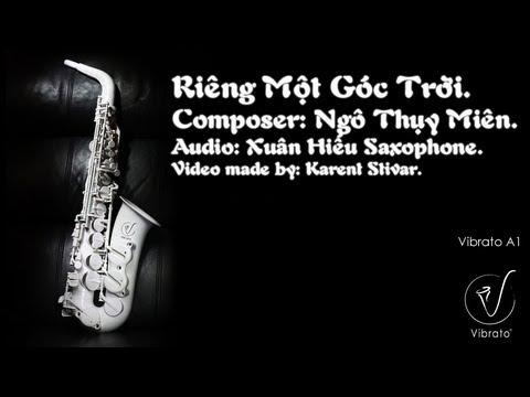 Riêng Một Góc Trời - Saxophone Cover - Lyrics