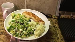 #16.Мой обед.Салат с тунцом.Кушайте и худейте.Мое здоровое питание.