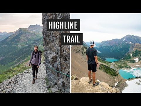 Hiking the Highline Trail to Grinnell Glacier Overlook at Glacier National Park (& huckleberry pie!)
