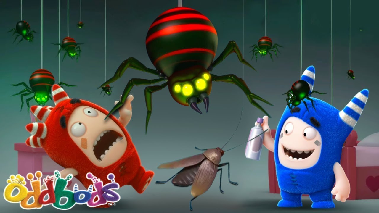 The Bugs Buzz - भिनभिनाते कीड़े | Oddbods | नया | बच्चों के लिए मज़ेदार कार्टून