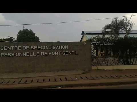 Driving Port Gentil, Gabon
