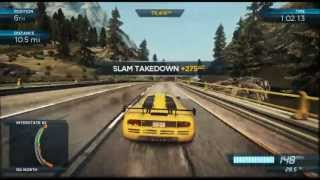 Need For Speed Most Wanted U, Wii U Gameplay