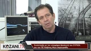 Συνέντευξη με τον υποψήφιο του ΣΥΡΙΖΑ Μ. Δημητριάδη