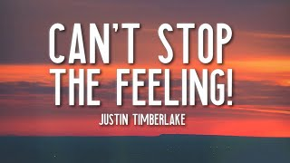 CAN'T STOP THE FEELING! - Justin Timberlake (Lyrics) 🎵