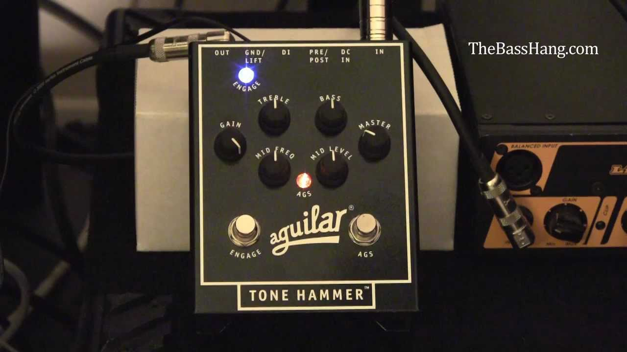 aguilar tone hammer ags circuit demo youtube. Black Bedroom Furniture Sets. Home Design Ideas