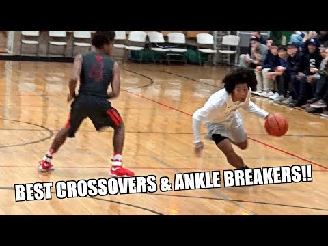 BEST ANKLE BREAKERS & CROSSOVERS OF ALL TIME!! - Courtside Films