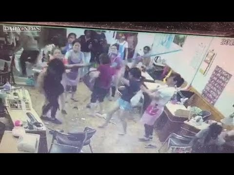 Thieving Black Women Receive Beating From Asian Nail Salon