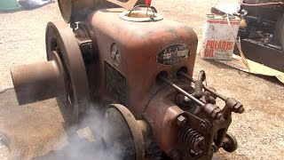 Old Engines in Japan 1950s MITSUBISHI KATSURA Engine Type J1 3hp
