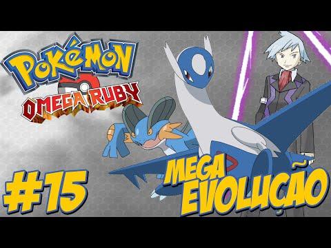 Pokémon Omega Ruby #15 / Ajudando Latios / Evoluindo / A Primeira Mega Evolução!!