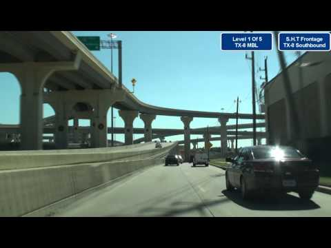 I-10 Katy Sam Houston Toll 5 Level Stack Interchange Tour Houston, TX