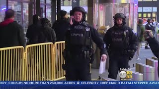 Five People Injured Terror Attack Near Port Authority