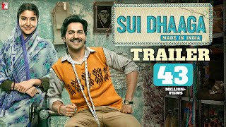 Sui Dhaaga - Made in India   Official Trailer   Varun Dhawan   Anushka Sharma   Releasing 28th Sept