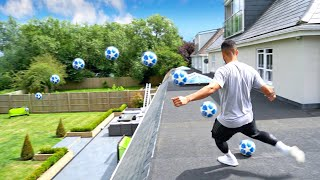 LOCKDOWN GARDEN TRICKSHOTS! ⚽️🔥 | Billy Wingrove & Jeremy Lynch