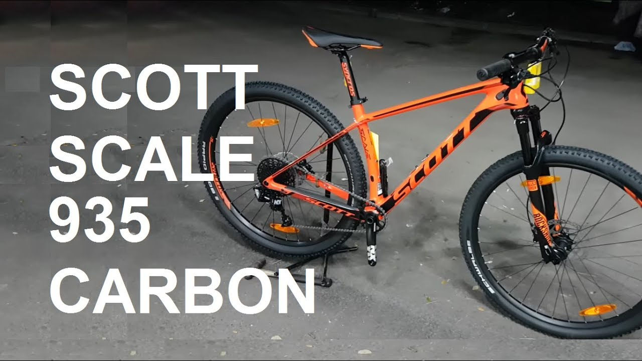 Limited Edition Scott Scale 935 Carbon Mtb 29 inch #643