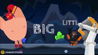 FOR KIDS!!! VOCABULARY BOOST - OPPOSITES - FUN MUSIC - LEARNING FOR BABY - SUPERHERO THEME