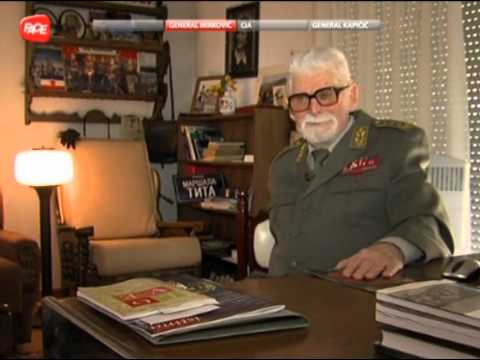 SFRJ Jugoslavija - General Stevan Mirković