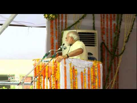 Shri Narendra Modi addresses public meeting in Mathura: 25.05.2015