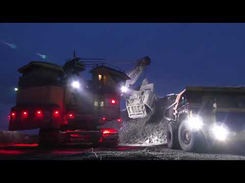 P&H Shovel Kill Zone LED Lighting By Vision X