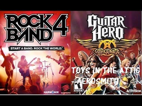 Rbvsgh Gha Toys In The Attic By Aerosmith Expert Guitar