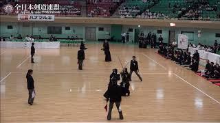 KAGOSHIMA vs MIE 10th All Japan Interprefecture Ladies KENDO Championship 2018 3rd Round