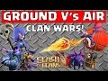 Clash of Clans - Ground V's Air CLAN WARS! (Part 1)
