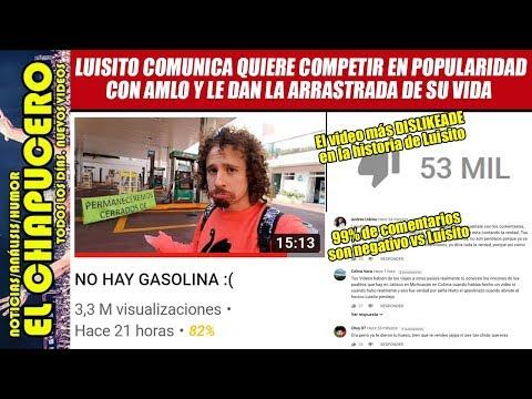Miles se desuscriben al canal de Luisito Comunica por atacar