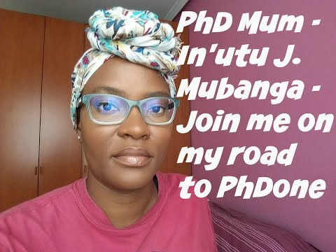 PhD MUM - PROOFREADING & EDITING - UPDATE VIDEO / ZAMBIA