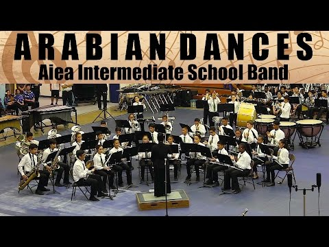 Arabian Dances | Aiea Intermediate School Band | 2017 South Parade of Bands