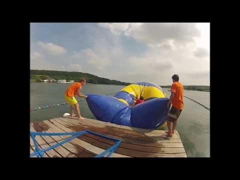 Blob Jump en caméra embarquée - GoPro - Plan d'eau du Canada - Beauvais Beach