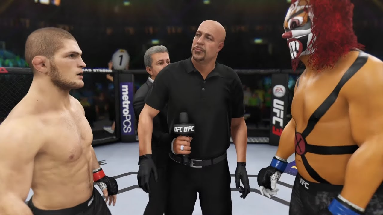 Khabib Nurmagomedov vs. Twisted Metal (EA sports UFC 3)