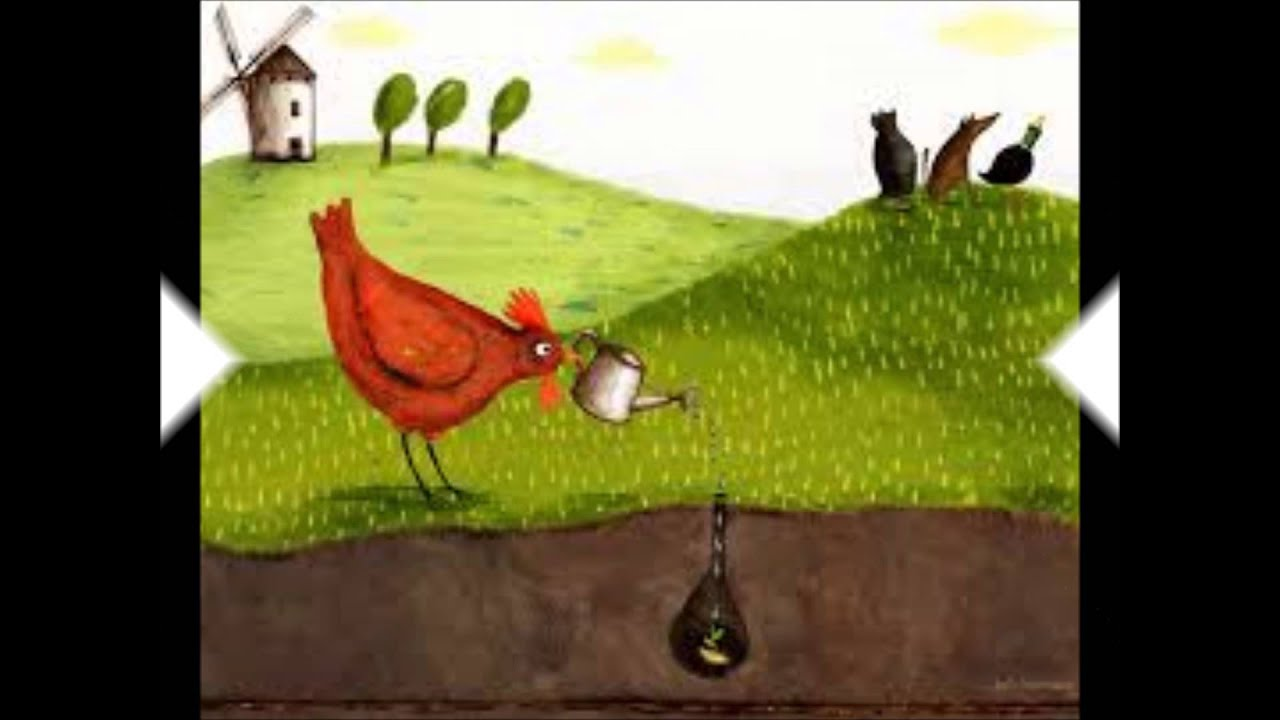 Cuento La Gallinita Roja - YouTube