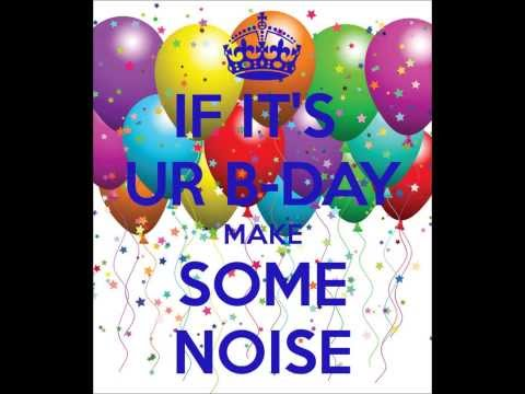 Baltimore club mix - if it's your birthday