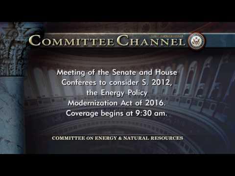 Senate Bicameral Energy Bill Conference