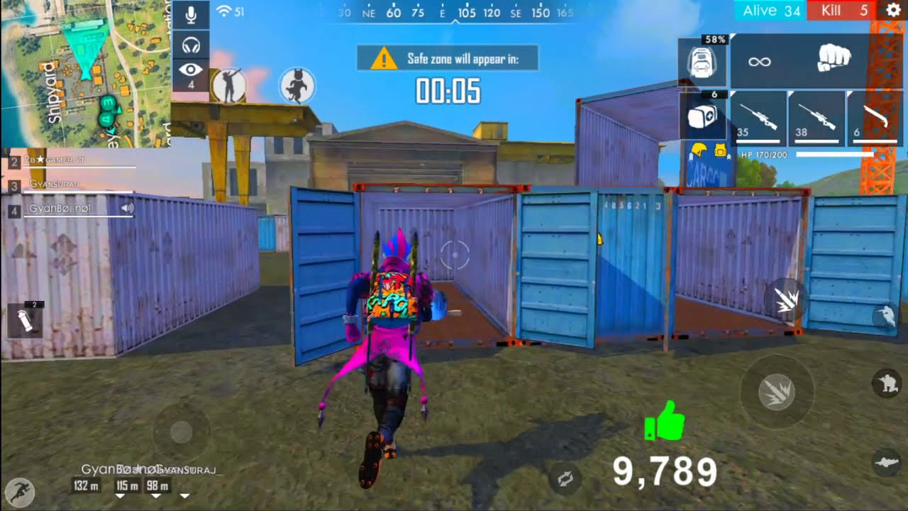 Ranked Match Garena Free Fire Live