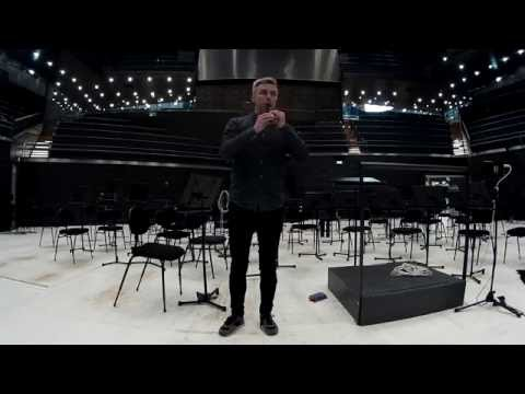 Rehearsing Bach's Badinerie on the recorder