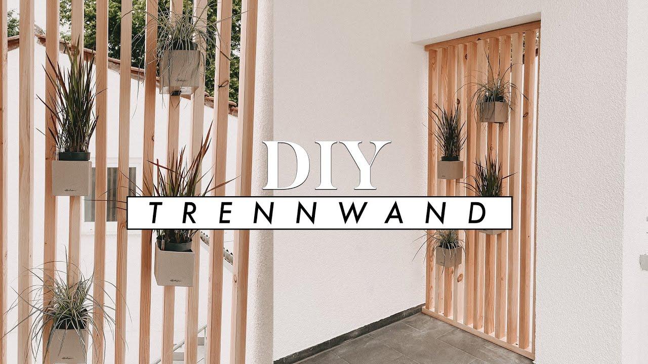 Diy Trennwand Aus Holz Raumteiler Sichtschutz Fur Haus Und