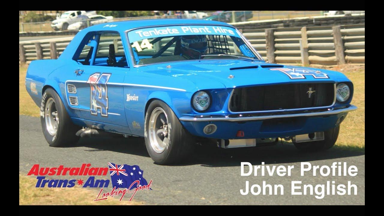 Australian Trans-Am Driver: John English - YouTube
